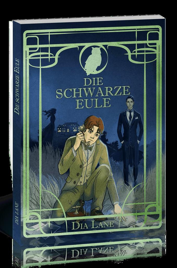 Cover von Die schwarze Eule